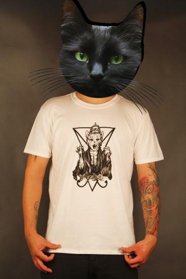 """Limitované tričko """"Nesvatý od Strigy"""" bílé"""