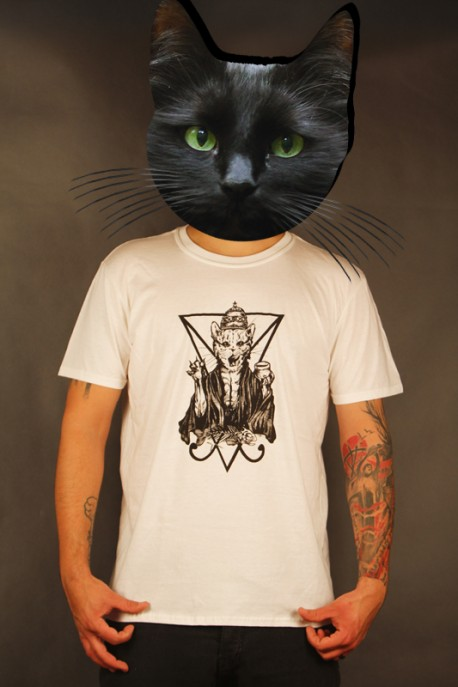 """Limited T-shirt """"Unholy by Striga"""" white"""