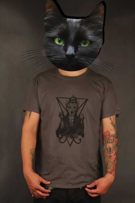 """Limitované tričko """"Nesvatý od Strigy"""" tmavě šedé"""