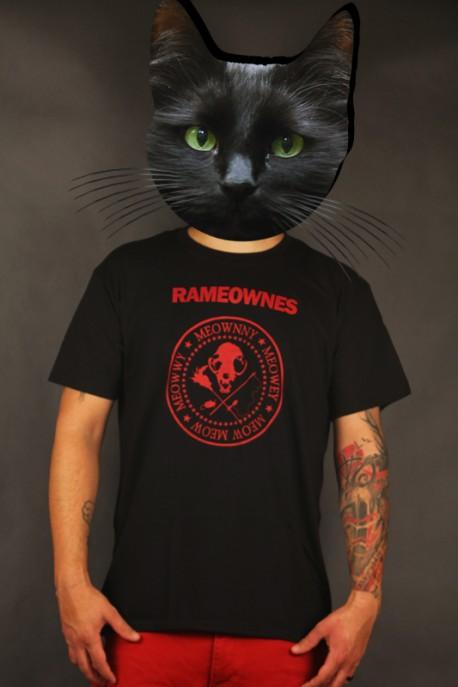 "T-shirt ""Rameownes"" black"