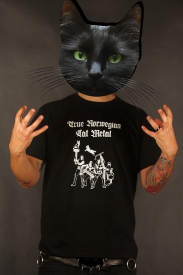"""tričko """"Cat Metal"""" černé"""