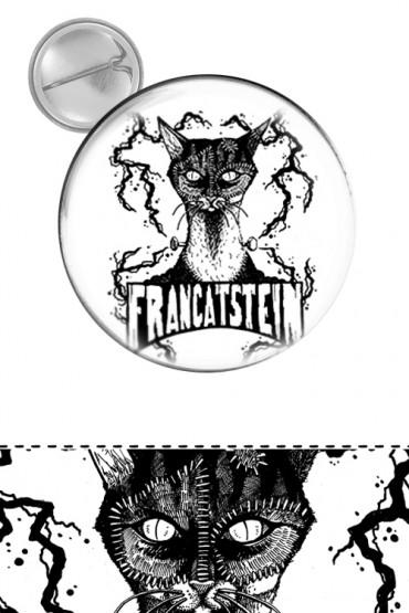 """Button """"Francatstein"""""""