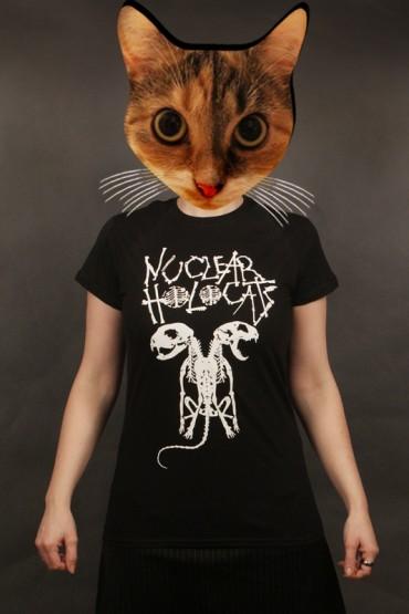 "tričko ""Kostěné logo"" černé"