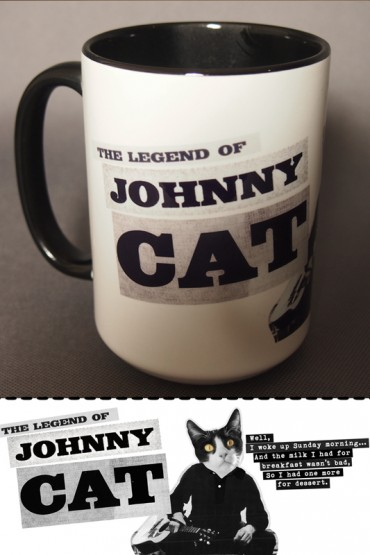 "Mug ""Johnny Cat"" 0,4l"