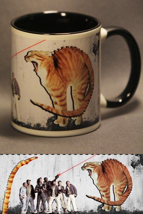 "Mug ""Alien cat"""