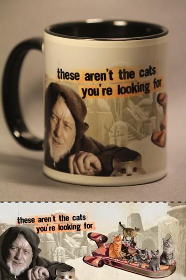 "Mug ""Star cats"""