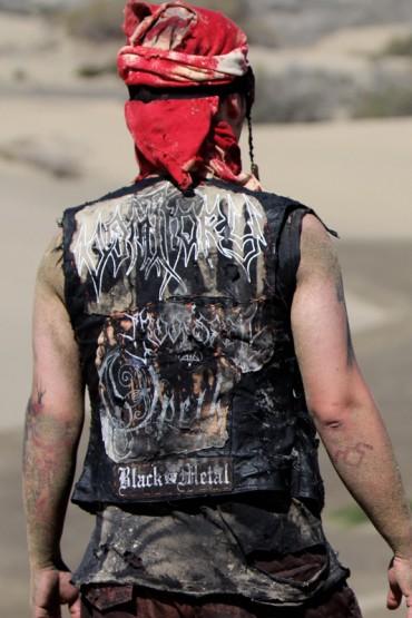 Motor Zombie, leather vest