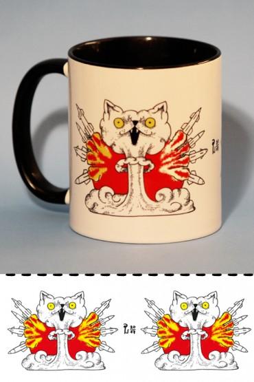 "Mug ""Atomic Cats"" 0,3l"