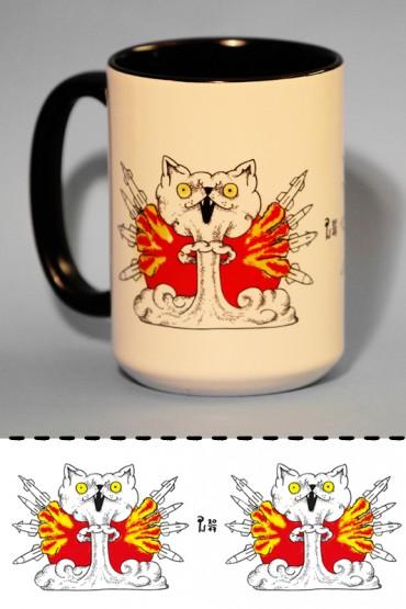 "Mug ""Atomic Cats"" 0,4l"