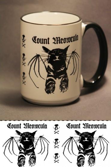 """Mug """"Count Meowcula"""""""