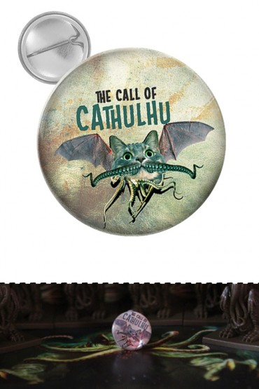 """Button """"Call of Cathulhu"""""""