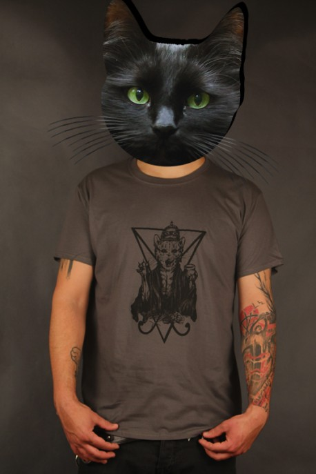 "Limited T-shirt ""Unholy by Striga"" charcoal"