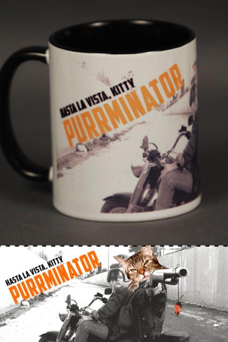 "Mug ""Purrminator"" 0,3l"