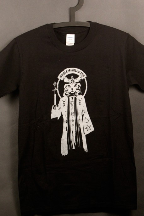 "T-shirt ""Meowcultist"" black"