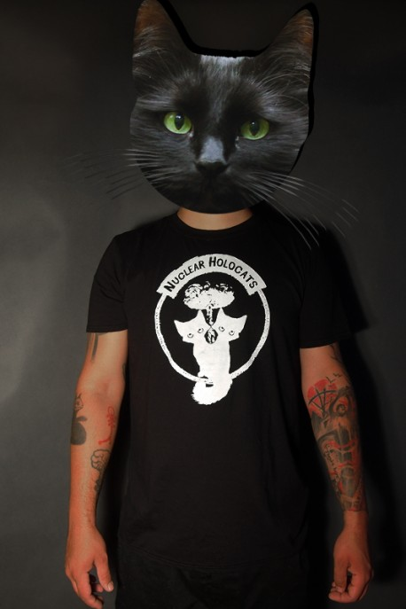 "T-shirt ""Nuclear Holocats"" black"