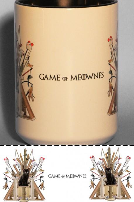 """Mug """"Game of Meownes"""" 0,4l"""
