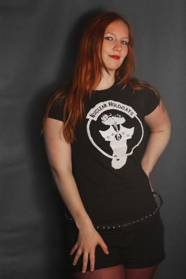 """tričko """"Nuclear holocats"""" černé"""