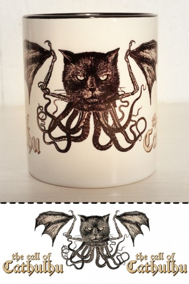 "Mug ""Call of Cathulhu"" 0,3l"