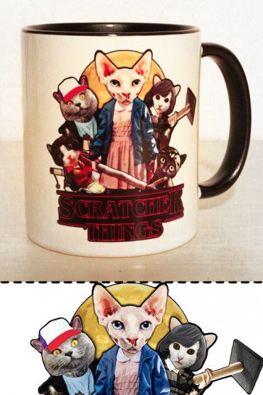 "Mug ""The Scratcher Things"" 0,3l"