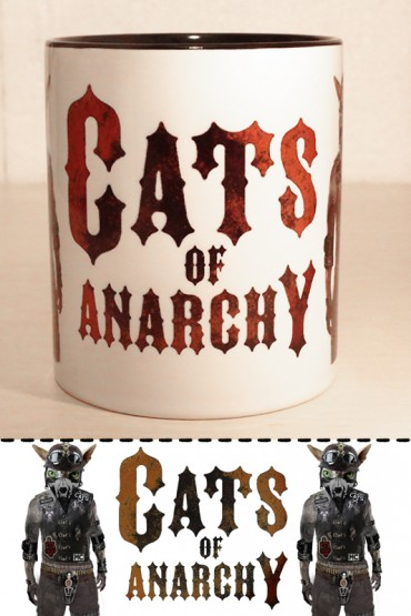 "Hrnek ""Cats of Anarchy""  0,3l"