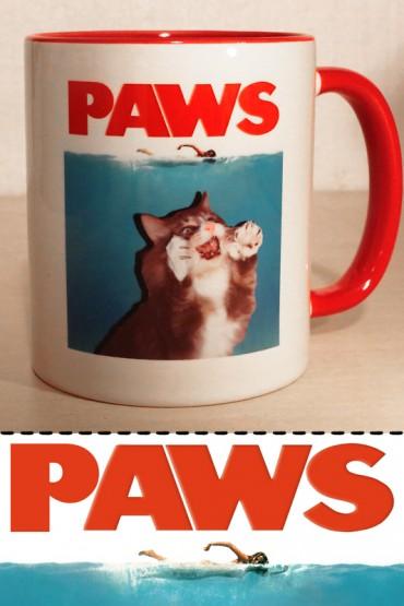 """Mug """"Paws"""" 0,3l"""