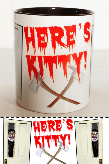 "Mug ""Here's kitty"" 0,3l"