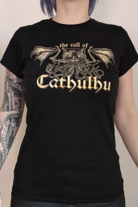"""tričko """"Call of Cathulhu"""" černé"""