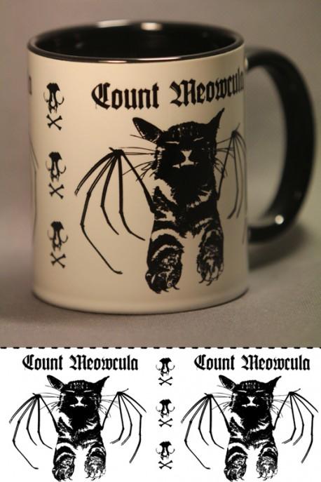 "Mug ""hrabě Meowcula"""