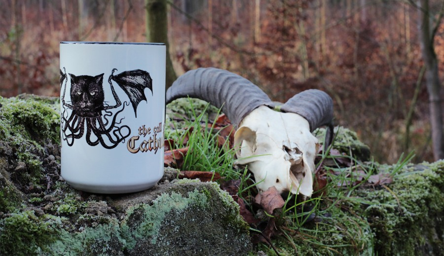 call of cathulhu mug